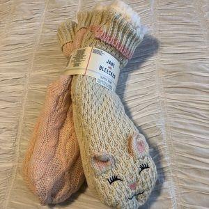Jane and Bleecker slipper socks